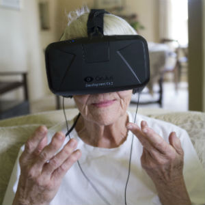 Granny goes virtual